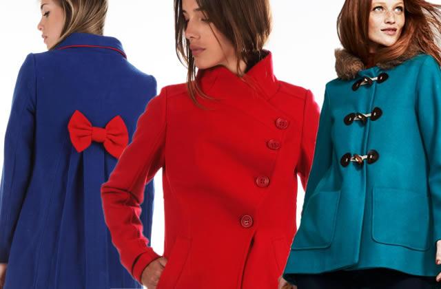 Et pourquoi pas un manteau coloré ?