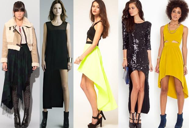robes asymetriques