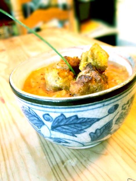 soupe lentille corail recette
