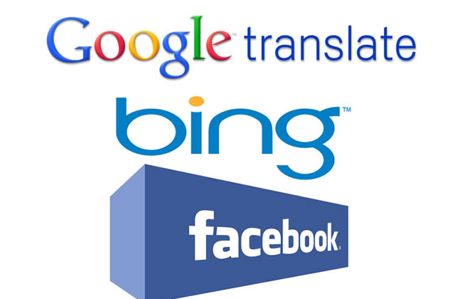 traducteurs automatiques bing sur facebook vs google. Black Bedroom Furniture Sets. Home Design Ideas