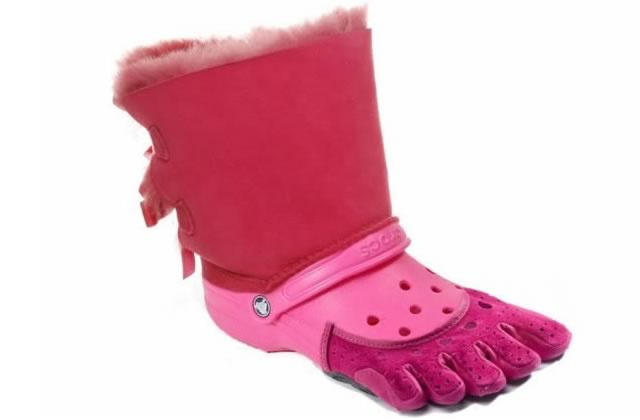 La chaussure la plus moche du monde