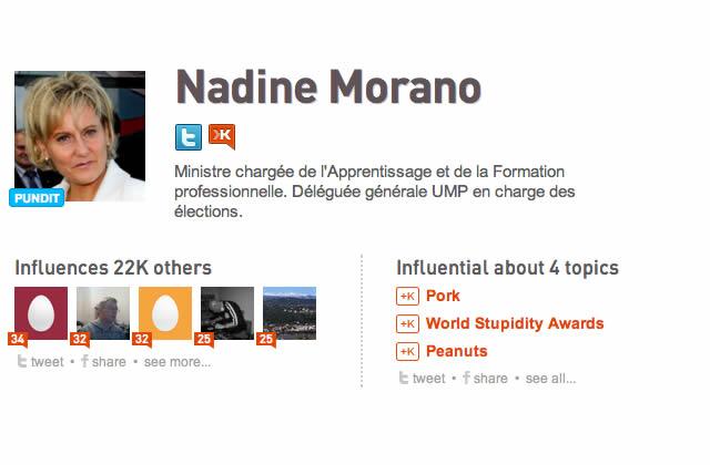 L'étrange cas de Nadine Morano sur Twitter – Les Chroniques de l'Intranquillité