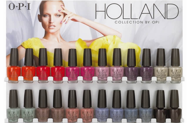 OPI sort sa collection Holland