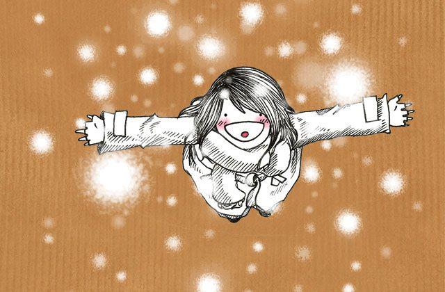 Le dessin de Nepsie #22 – Il neige, il neige, il neige !