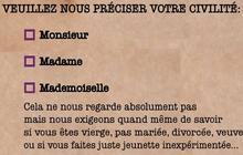 « Mademoiselle », c'est fini