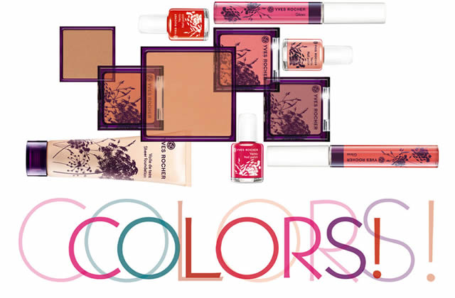 Colors, la nouvelle collection maquillage chez Yves Rocher