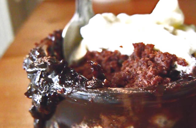 Recette du chocolate pudding