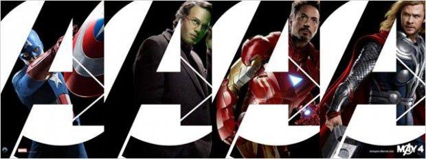 Captain America, Hulk, Iron Man et Thor