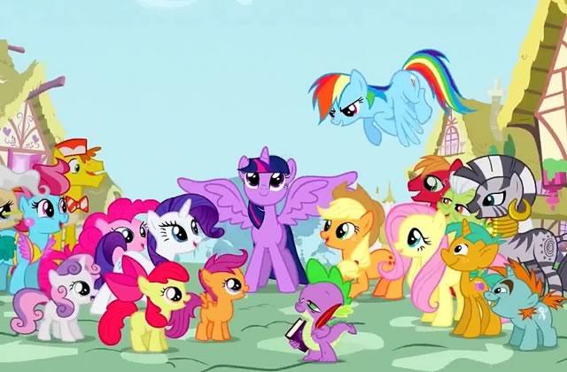 Un dessin anim avec des poneys plait aux bronies - Pony dessin anime ...