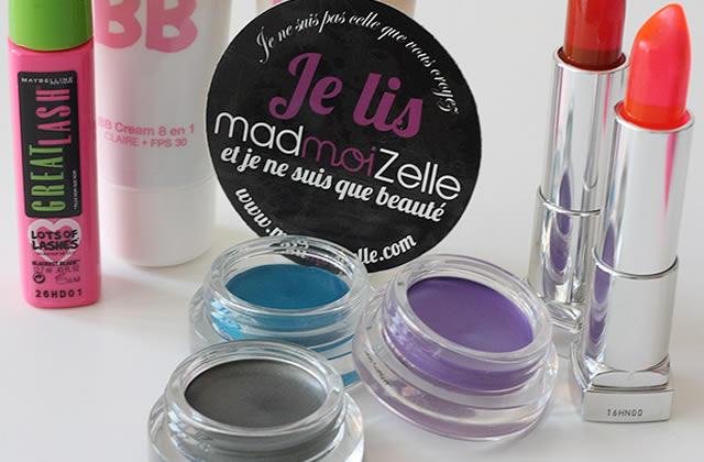 On a testé le maquillage pour les débutantes avec Gemey Maybelline