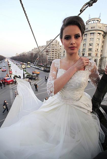 Plus belle robe de mariee au monde