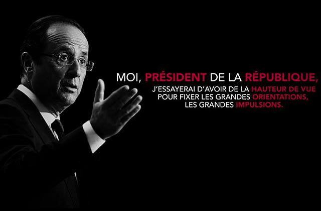 François Hollande est le Président de la République Française