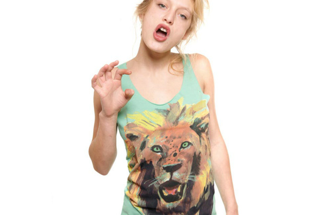 T-shirts G.KERO : Marguerite Bartherotte peint des animaux colorés