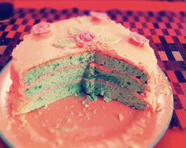gâteau glaçage rose recette