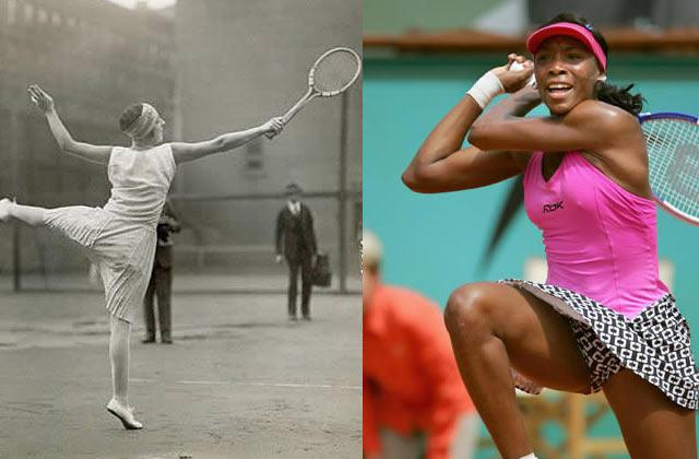 Petit historique de la mode féminine au tennis