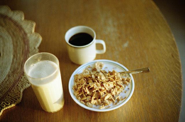 Le luxe du petit déjeuner