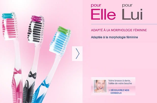« Pour lui » ou « pour elle » : le marketing genré des brosses à dents