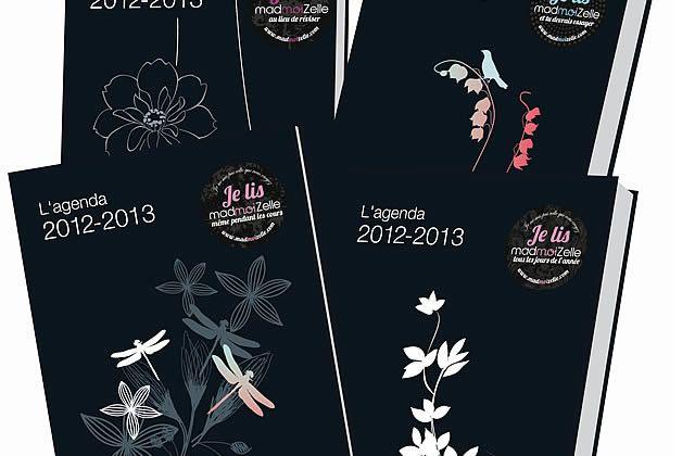 Les agendas madmoiZelle 2012-2013 sont là !