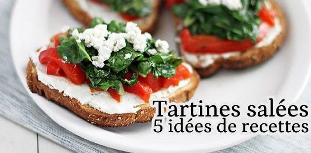 Les tartines salées : la recette !
