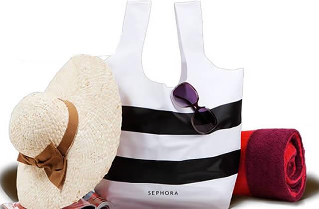 Un sac Sephora offert à chaque commande