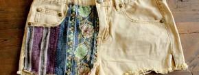 Sélection de tutos – 5 façons de customiser vos shorts en jean