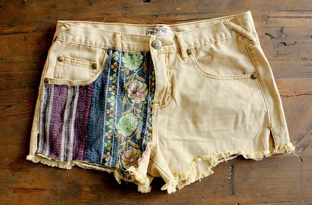 Sélection de tutos – 5 façons de customiser vos shorts en jean