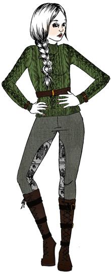 tendance mode cavalerie