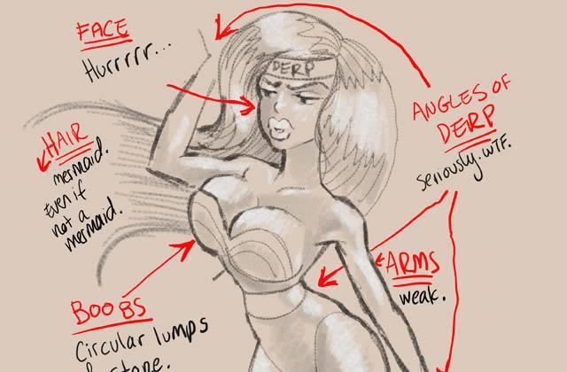 Comment dessiner des super-meufs, par Krisztianna Ortiz