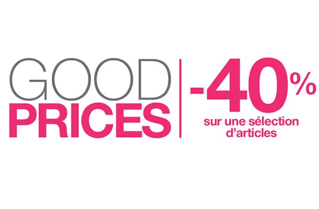 Good Prices Pimkie : 40% de réduction sur une sélection d'articles !