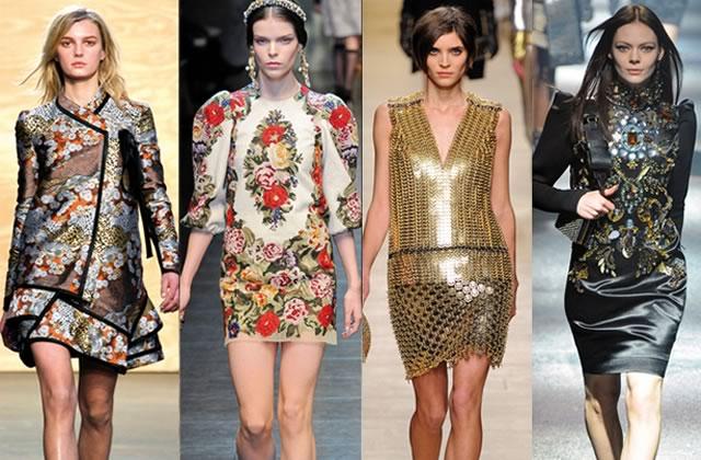 Le style baroque oriental – Tendances mode automne-hiver 2012-2013