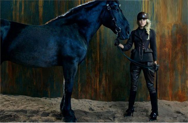 Le style inspiration cavalière – Tendances mode automne-hiver 2012-2013