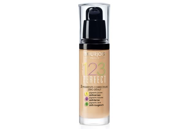 Le fond de teint 123 perfect de Bourjois