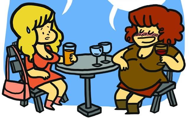 Un verre, ça va… – Le strip d'Elosterv