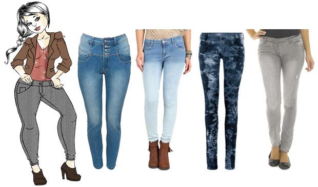 Conseil morpho Choisir le jean idéal