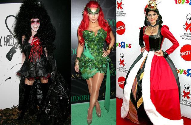 Les meilleurs (et les pires) looks de stars pour Halloween