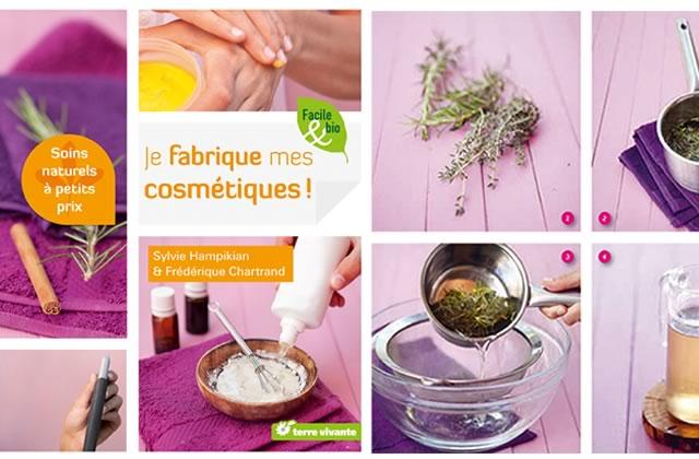 Je fabrique mes cosmétiques, de S. Hampikian et F. Chartrand