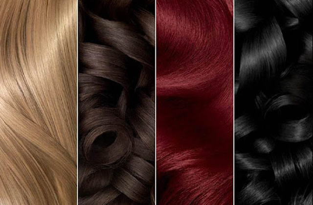 Test coloration cheveux garnier