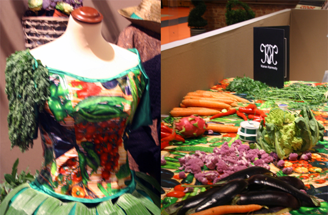 Les robes-légumes de Karen Karmody – Interview de la créatrice