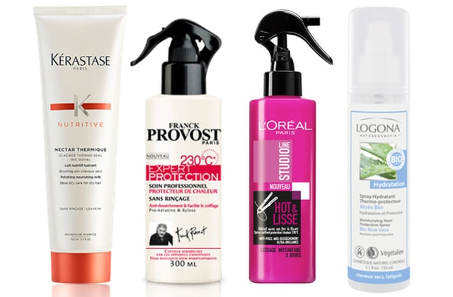 produit pour lisser les cheveux