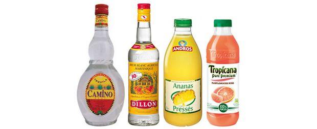 Acapulco Golden cocktail alcool recette facile