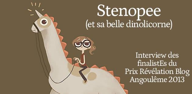 Stenopee (Finaliste Révélation Blog BD 2013 4/9)