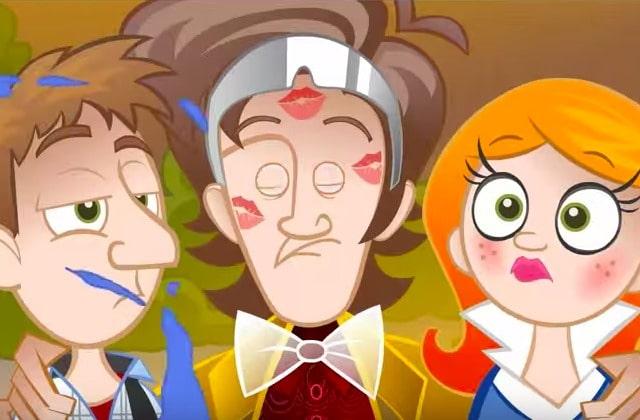 Doctor Who x Retour Vers le Futur : le mashup en dessin animé
