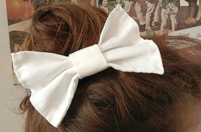 20d6ac1de686 beautiful tuto une barrette noeud en tissu with comment faire un beau noeud