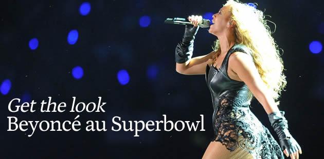 Beyoncé au Super Bowl – Get the Look