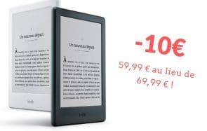 Le bon plan du jour ! Le Kindle à 59,99€ au lieu de 69,99€ (aujourd'hui seulement)