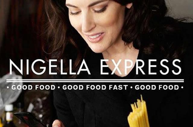 Nigella Express, le livre de recettes de Nigella Lawson