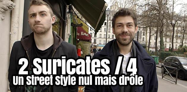Le Street Style (nul) (mais drôle) des Suricates