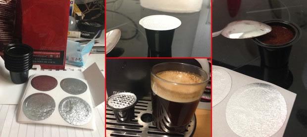 capsules café vides à remplir
