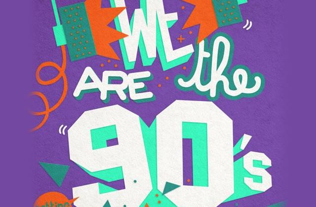 5×2 places à gagner pour la We Are The 90's du 15 mars 2013