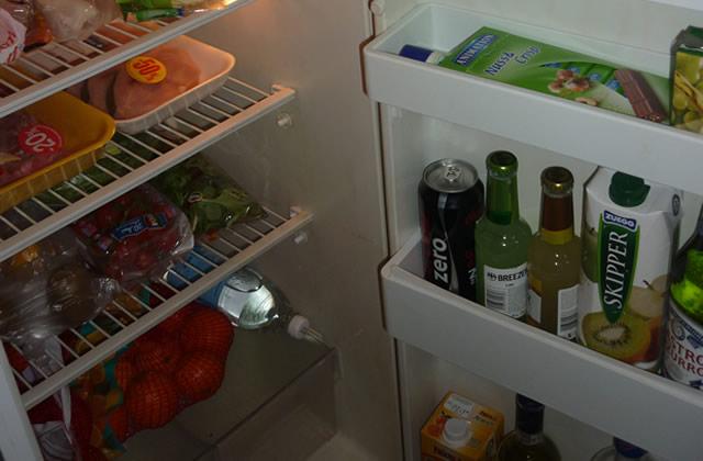 Dans le frigo… d'Amandine !